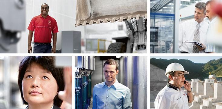 Sobre Bosch Rexroth - Segmentos de mercado