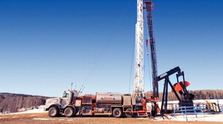 Extracción de petróleo y gas